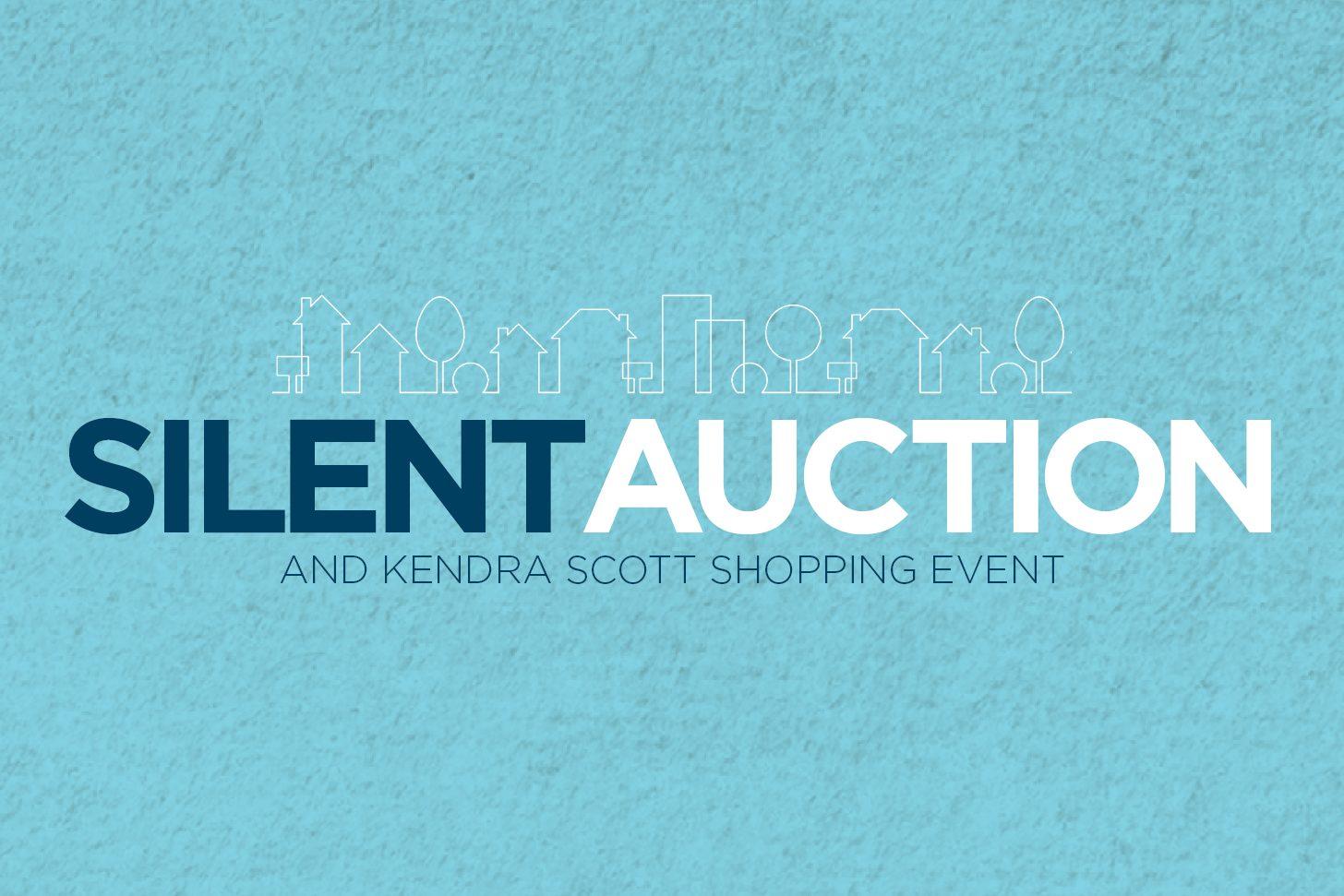 silent auction web event graphic